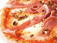 Pizza Mascarpone e Noci